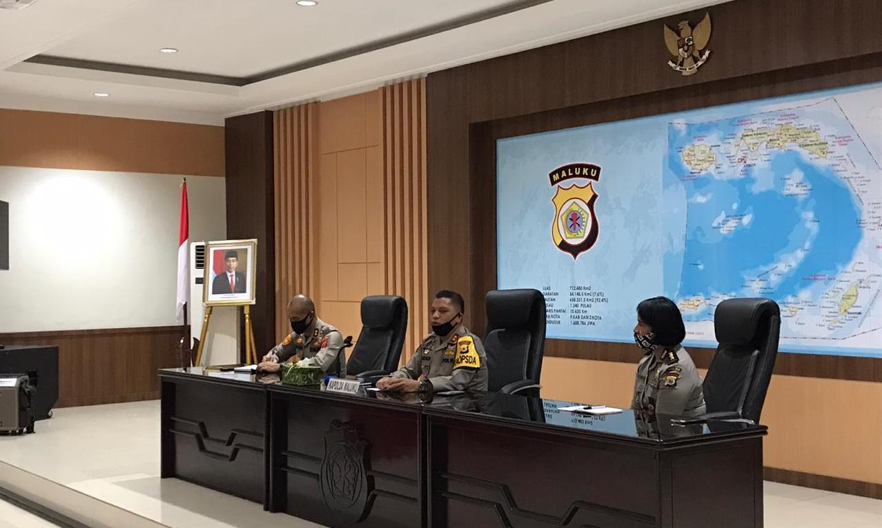 Beri Pengarahan Staf Itwasda, Ini Pesan Kapolda Maluku