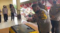 Kapolda Maluku Resmikan Gedung Dojo Imam Iswanto SPN Passo