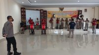 Jelang HUT RI Ke 75, Wakapolda Maluku Cek Kesiapan Korsik Polda Maluku