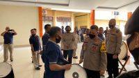Kapolda Maluku Irjen Pol Baharudin Djafar Cek Kesiapan Korsik Polda Maluku Jelang HUT RI Ke 75