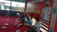 Duduk Bacarita kamtibmas Polda Maluku Bahas Soal Corona di Tengah Pilkada serentak 2020