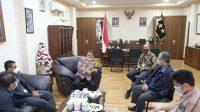 Kapolda Maluku Terima Kunjungan Silaturahmi Wakil Direktur PT PLN