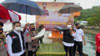 Kapolda Maluku Hadiri Launching Kampung Tangguh di Nusaniwe